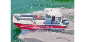 Georgia County Fire Dept. Gets A Custom Fireboat