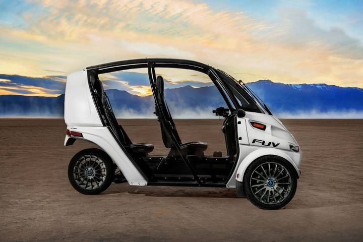 Arcimoto's Fun Utility Vehicle (FUV) - Photo: Arcimoto