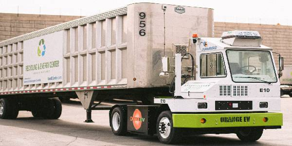 R&E Deploys All-Electric Class 8 Truck