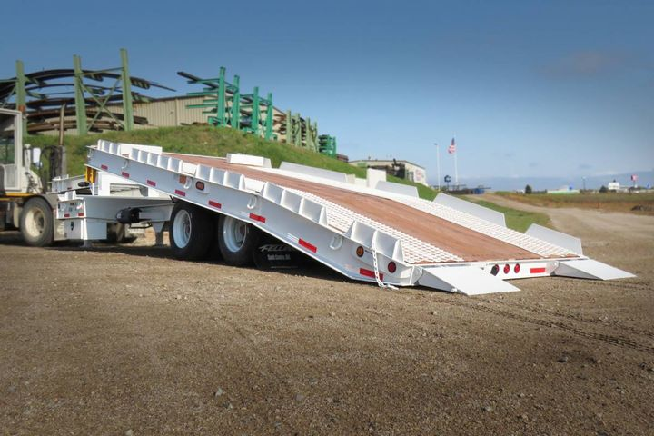 The FT-40-2 T Custom trailer built to spec. - Photo: Felling Trailers