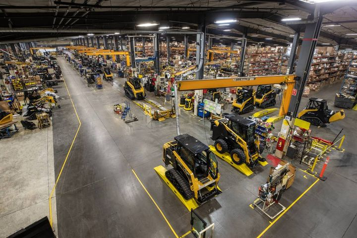 ASV Holdings Inc. will increase production capacity by about 30% in Q1 of 2021, creating 28 new jobs in the company's Grand Rapids, Minn. facility. - Photo: ASV Holdings