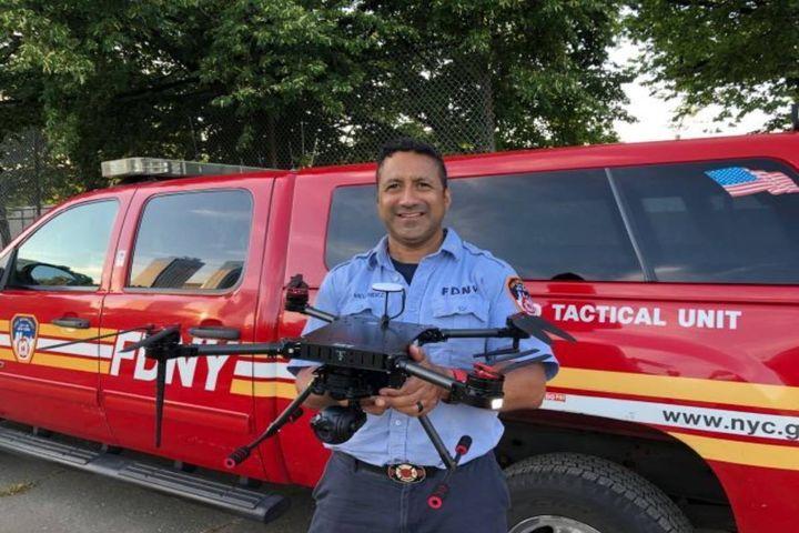 Lt. David Melendez New York Fire Department (FDNY) - Photo: AEE