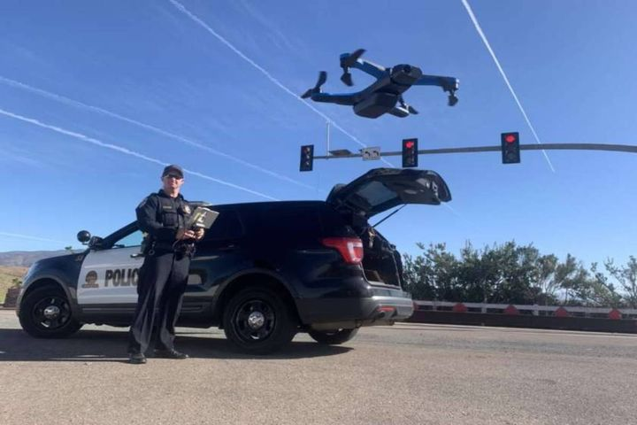 Drone as First Responder programs aim to decrease response times, provide situational awareness, and increase efficiency. - Photo: Skyfire