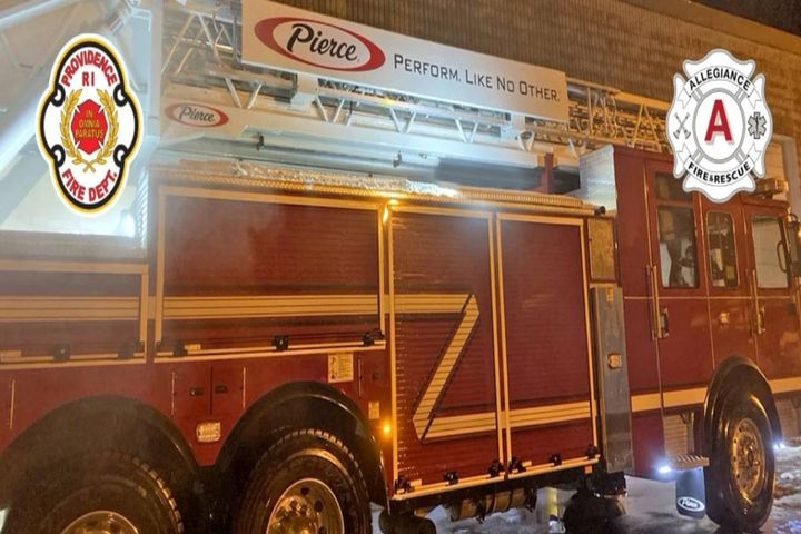 The company has secured an order from the Providence, R.I., Fire Department for four Saber Pumpers, four 100' Heavy-Duty Aerial Ladders, and an Ascendant 100' Heavy-Duty Aerial Tower. - Photo: Pierce