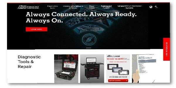 Snap-on Introduces New Diagnostics Website