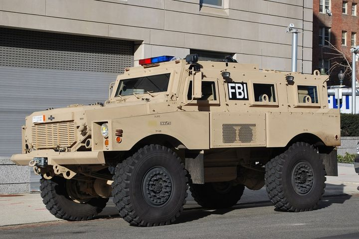 Mine Resistant Ambush vehicle - Photo: Wikipedia
