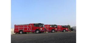 Nuclear Facility Fire Department Adds New Emergency Vehicles
