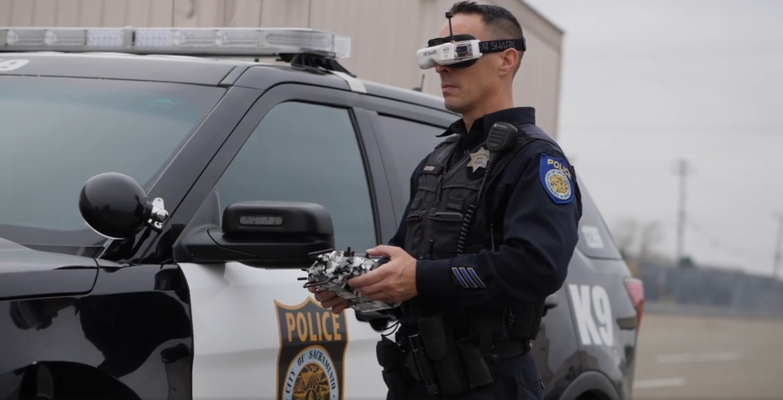 How Sacramento PD Uses Micro-Drones on Patrol