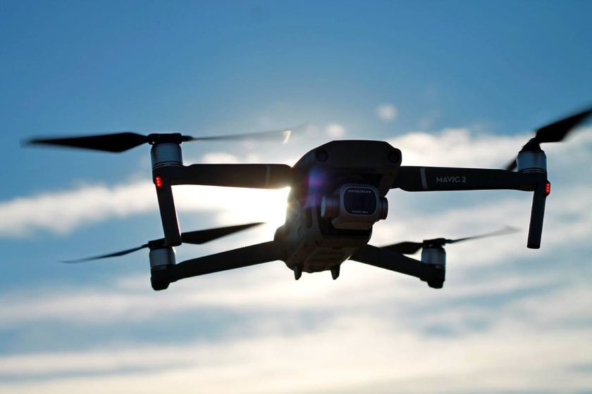 The donated drone will be used to help detect missing persons and chase down suspects by...
