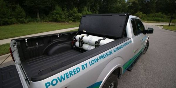 The City of Orlando, Florida, will add two adsorbed natural gas-equipped Ford F-150 pickup...