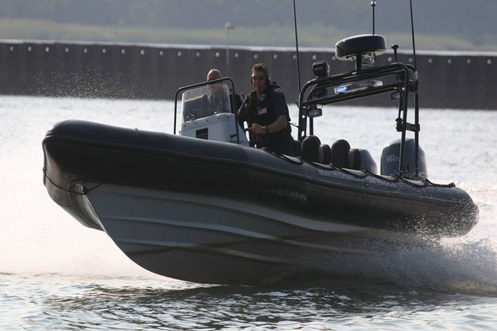 The boats will be used by the State Police Marine Division for patrol, search and rescue, rapid response, victim recovery, and more. (7.8 Stock Photo) - Photo: Ribcraft