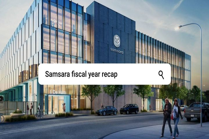 More than 80% annual growth has been driven by accelerated adoption of the company's connected operations cloud. - Photo: Samsara