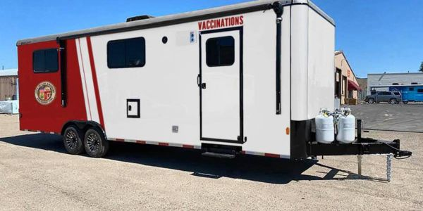 The trailers can be customized to include onboard power, heating and air conditioning systems,...