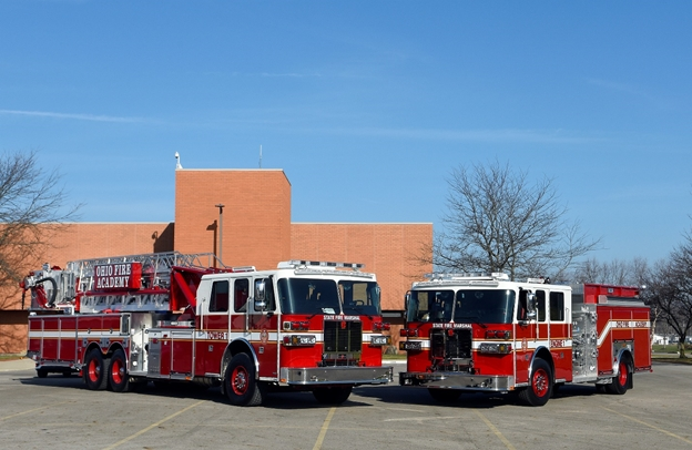 Ohio Fire Training Academy's New Trucks Have Updated Technology