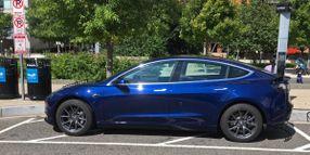 Michigan Municipality PD's Tesla Hits Road, Turns Heads
