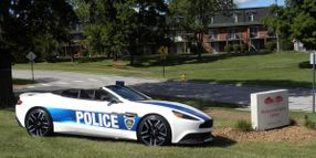 Police Departments Announce New Vehicles on April Fools' Day