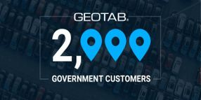 Geotab Surpasses 2,000 Government Customers