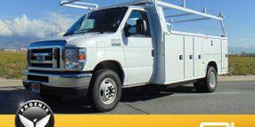 California City Receives Second Electric Service Truck