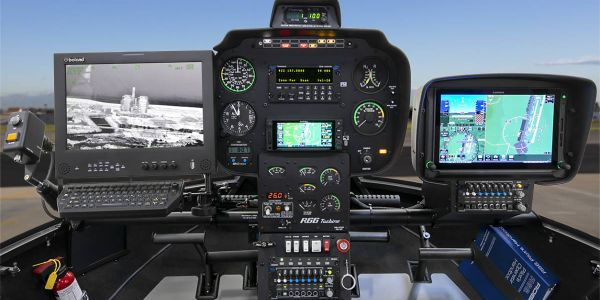 The copter is configured with a Wescam MX-10 EO/IR imaging system and an HD infrared sensor, a...