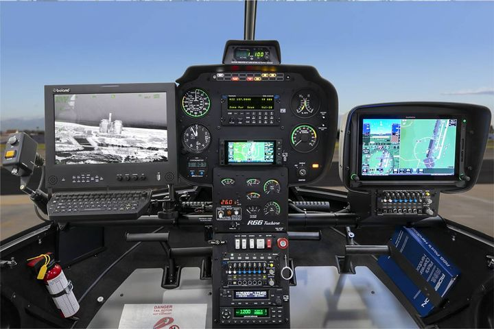 The copter is configured with a Wescam MX-10 EO/IR imaging system and an HD infrared sensor, a system widely used by homeland security and law enforcement agencies. - Photo:Polk County, Florida,Sheriff's Office