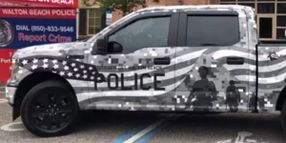Florida City PD Honors Military with Patrol Vehicle