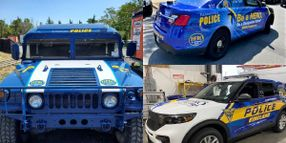 New Jersey PDs Unveil Police Vehicles to Prevent Drunk Driving