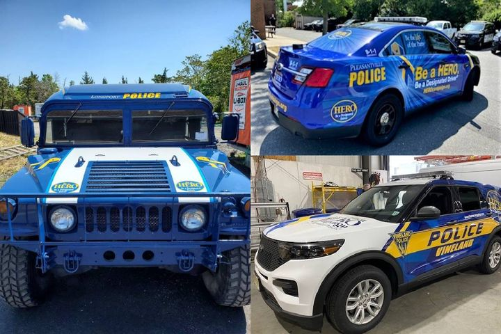 The cars will be used for regular traffic patrols and special events. - Photo:John R. Elliott HERO Campaign