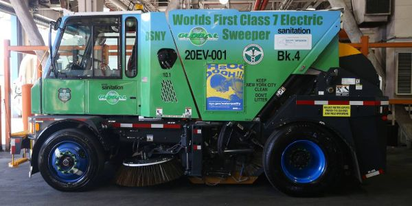 DSNY has approximately 450 traditional street sweepers in use across the five boroughs,...