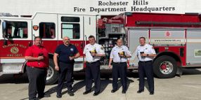 Michigan City Adds 50 Thermal Imaging Cameras to Fire Fleet