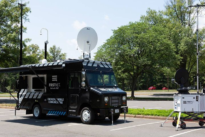 Public safety now has access to a dedicated fleet of 100+ land-based and airborne portable cell sites, all at no additional charge. - Photo: FirstNet