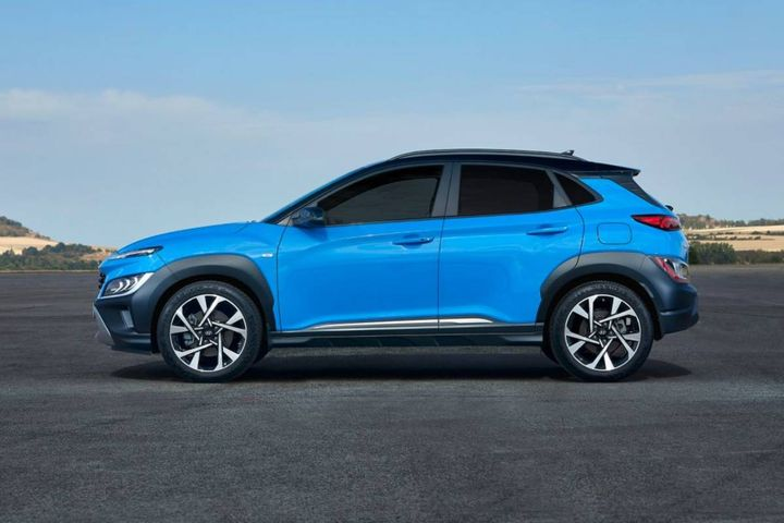 The Hyundai Konas, which are classified as subcompact SUVs, will replace aging three-wheeled 'GO-4' vehicles used by parking enforcement personnel scouting for violations. - Stock Photo: Hyundai