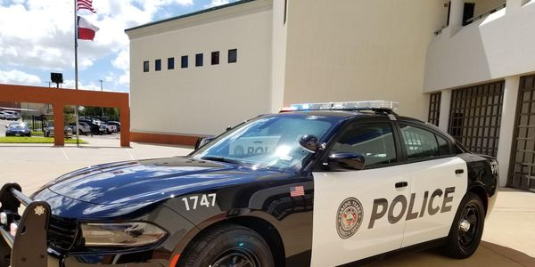 Laredo (Texas) Police Department's Chargers have the Mobileye collision avoidance technology...