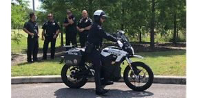 Duke Energy Helps Fund Florida City Police Electric Motorcycles