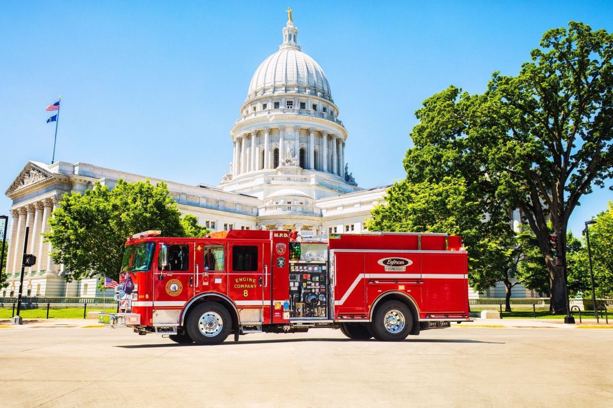 Pierce, Oshkosh Airport Products Introduce Fire, Emergency EVs