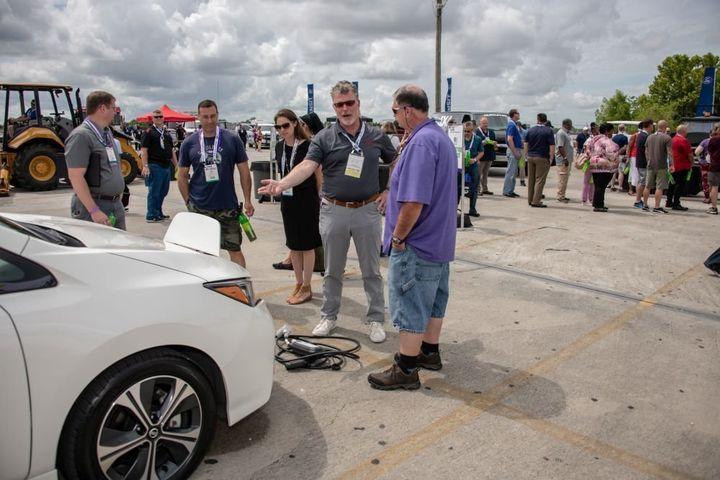 The event-within-an- event will be a mix of ride and drives, learning and networking, vehicle displays, and solution spotlight demos. - Photo: GFX