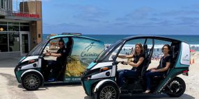 California City Pilots Electric 'Fun Utility Vehicle'