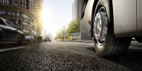 Continental Tests E-Truck Tire Prototypes