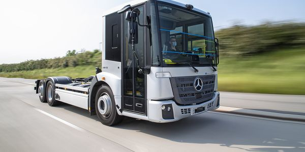 The eEconic is ideally suited for itsrole as a refuse collection vehicle, according to...
