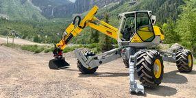 Menzi USA to Showcase 'Walking Excavator' at GFX