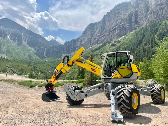 The Menzi Muck lineup includes several models, configurations, and sizes for specific requirements as well as many attachments. - Photo: Menzi
