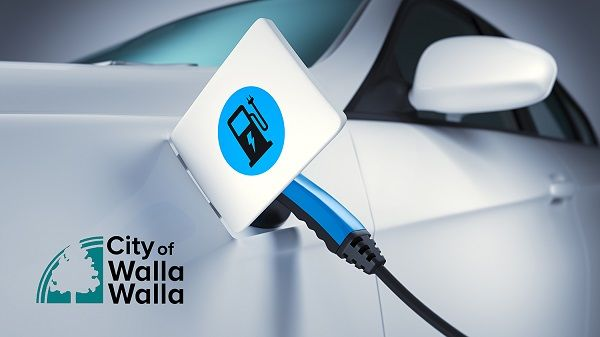The City of Walla Walla, Washington, is ordering its first EV ARC solar-powered EV charging system as part of its electrification and emergency preparedness programs. - Photo: Beam