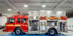 Fire Trucks' Auxiliary Power Units Reduce Idling
