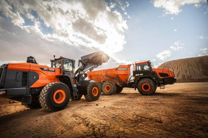 The plan is to manage overlapping investments and invest heavily in areas like future technologies and innovation. - Photo: Doosan