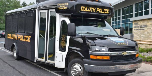 The Duluth Police Department's goal with the bus, named CODE4, is to provide those in the...