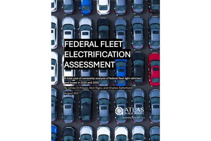 A new analysis by the Electrification Coalition and Atlas Public Policy makes a case for federal fleet electrification. - Photo: Atlas Public Policy