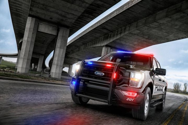 The department plans to remove Chevrolet Tahoe's from the fleet and replace them with alternative police vehicles, such as the pursuit rated Ford Explorer and/or the Ford F-150 pursuit rated light-duty truck. - Photo: Ford