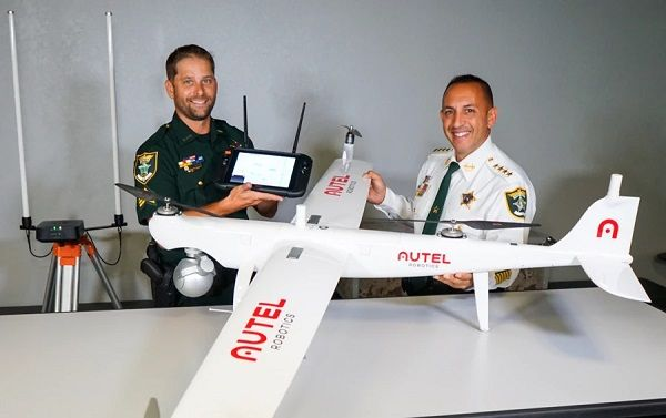 The Lee County, Florida, Sheriff's Office will now be able to locate missing persons and track wanted subjects in place of a helicopter, allowing more calls to be handled simultaneously. - Photo: Autel Robotics