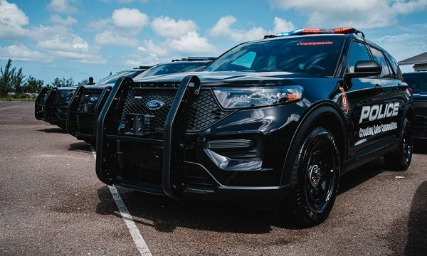 Shown here is one of the 20 Ford Police Interceptors delivered to theRoyal Bahamas Police Force. - Photo: U.S. Embassy, Nassau, Bahamas