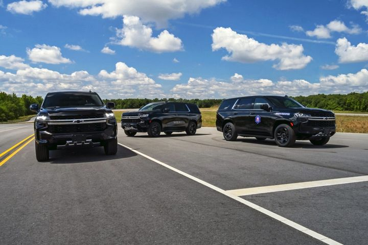 The low-profile vehicles will be assigned to each of the 12 highway patrol troops across the state. - Photo: Arkansas State Patrol