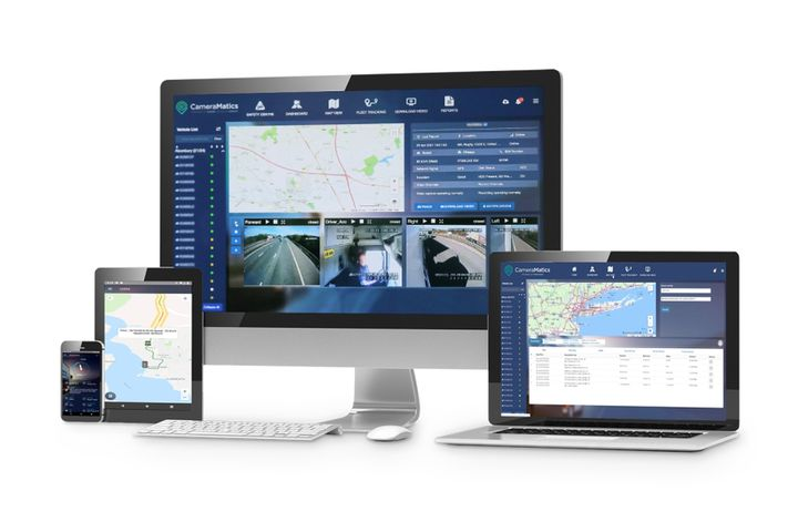 The CameraMatics SaaS software platform is based on connected camera technology, vision systems, AI, machine learning, and telematics, combined with fleet safety modules. - Photo: CameraMatics